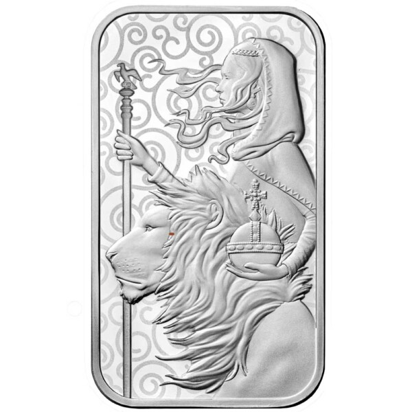 UNA & THE LION 2021 UK One Ounce Silver Bar