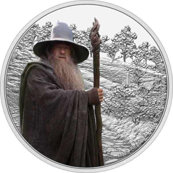 THE LORD OF THE RINGS™ – Gandalf the Grey 2021 Niue1oz Silver Coin