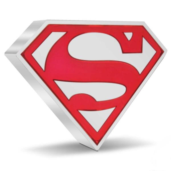 SUPERMAN™ Shield 2021 Niue 1oz Silver Coin