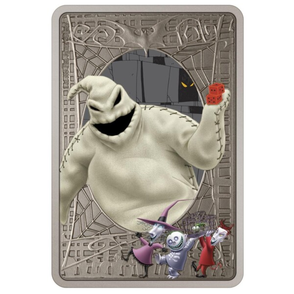 THE NIGHTMARE BEFORE CHRISTMAS - OOGIE BOOGIE 2021 Niue 1oz Silver Coin