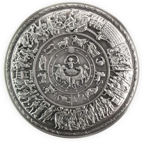 ACHILLES' SHIELD - 2oz silver stacker