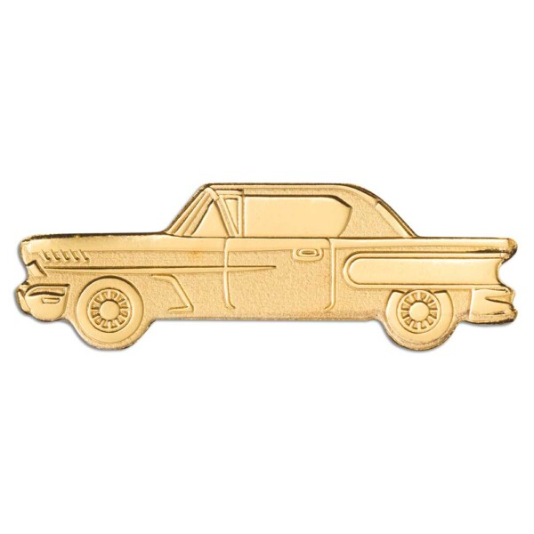GOLDEN CLASSIC CAR 2021 Palau 0.5g gold coin