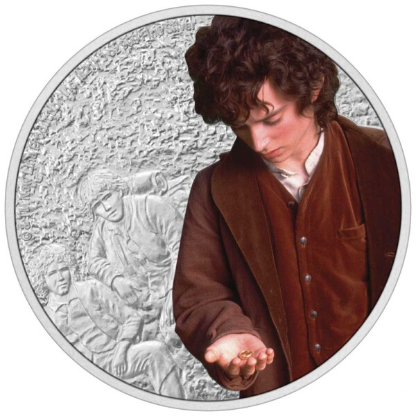 THE LORD OF THE RINGS™ – Frodo Baggins 2021 Niue1oz Silver Coin