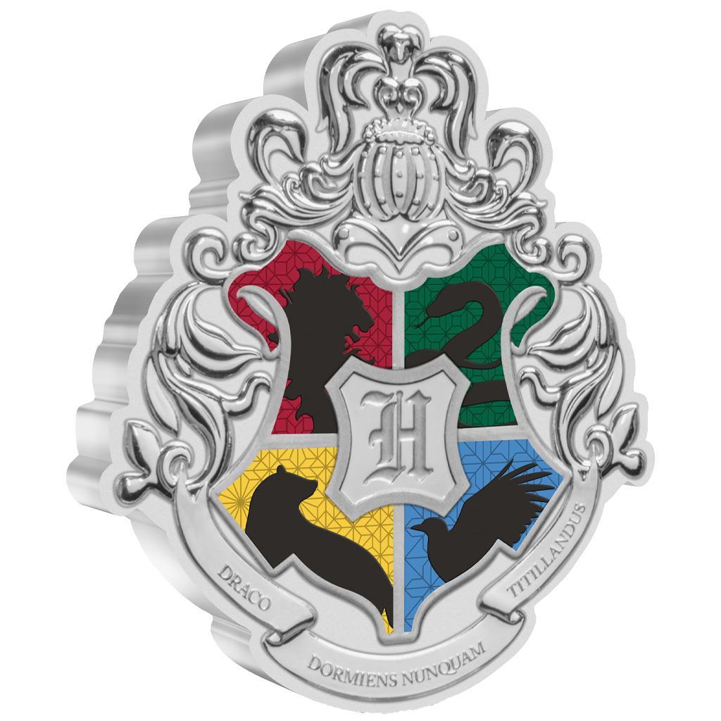 HARRY POTTER: HOGWARTS™ CREST- 2021 1oz silver coin