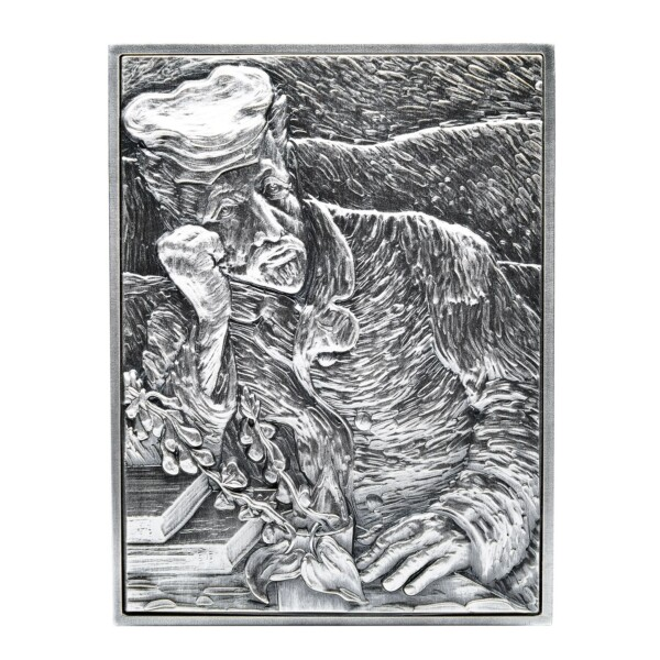 DR GACHET VAN GOGH 2021 Chad 2 Oz Silver Coin