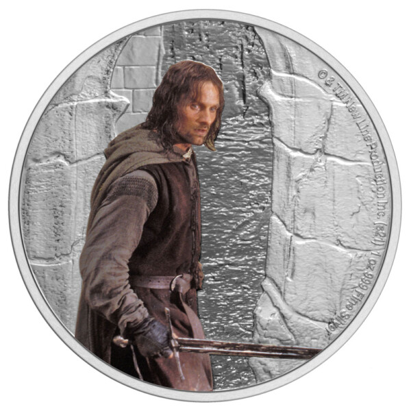 THE LORD OF THE RINGS™ – Aragorn 2021 Niue1oz Silver Coin