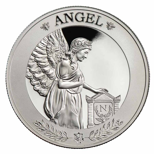 NAPOLEON'S ANGEL .999 Silver Proof Coin 2021 St Helena 1oz silver coin