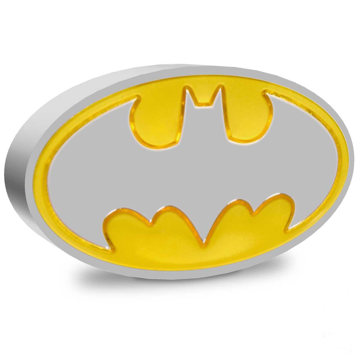 BATMAN™ LOGO 2021 Niue 1oz Silver Coin
