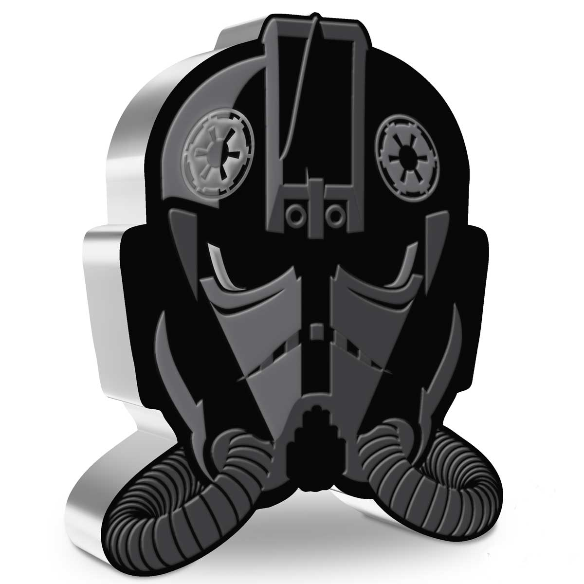 STAR WARS FACES OF THE EMPIRE™ – IMPERIAL TIE FIGHTER PILOT™: 2021 Niue 1oz silver coin