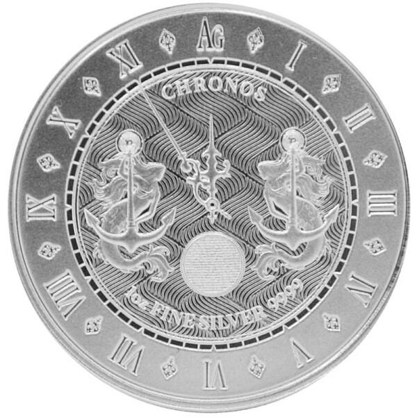 CHRONOS 2021 Tokelau 1 oz Silver BU